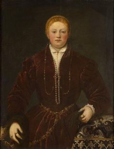 Tintoretto, Young Lady 1553-5