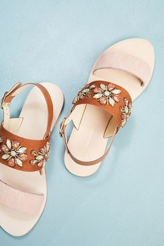 f5d336954 Slide View  2  Anthropologie Awakening Embellished Sandals Embellished  Sandals