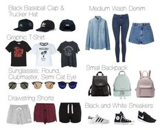 """""""Calum Hood Summer Essentials"""" by fivesecondsofinspiration ❤ liked on Polyvore featuring New Look, NIKE, adidas, Converse, Topman, Forever 21, Uniqlo, Glamorous, Topshop and MICHAEL Michael Kors"""