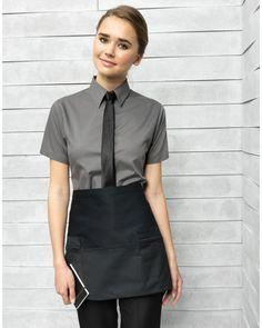 Zip pocket waist apron More