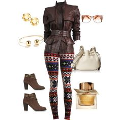 A fashion look from February 2015 featuring Tom Ford jackets, Monsoon ankle booties and Halston Heritage shoulder bags. Browse and shop related looks.
