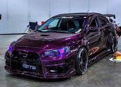 Mitsubishi EVO X ..Purple!!