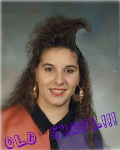This is a literal hair wave (or tidal wave): | 25 Photos Of '80s Hairstyles So Bad They're Actually Good