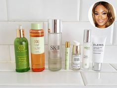 Ever wonder what your favorite stars slather on after hours? From in-flight essentials to top-shelf skincare saviors, celebs are sharing their makeup must-haves – one photo at a time