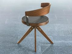 G 125: After 125 years Girsberger reinvents the wooden swivel chair