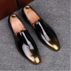 91160d577 Men Velvet Loafers Party wedding Shoes