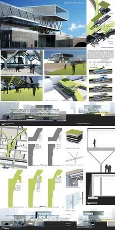 [re]Cycle Bike Factory, Design VI, Prof. Dunham on Behance