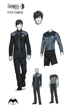 Uniform design by David Aja
