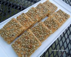 Gourmet Girl Cooks: Sunflower Seed Bagel Toast Topped w/ Chicken Salad Gluten Free Recipes, Low Carb Recipes, Real Food Recipes, Yummy Food, Tasty, Yummy Recipes, Sunflower Seed Recipes, Sunflower Seeds, Girl Cooking