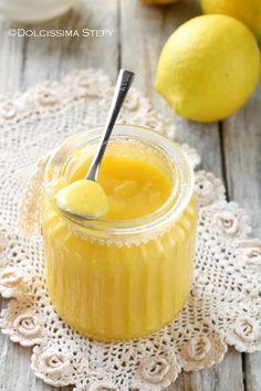 lemon curd Lemon Creme Pie, Lemon Curd, Apple Pie Bites, Cocktail Desserts, Dessert Sauces, Relleno, Finger Foods, Italian Recipes, Nutella