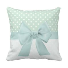 Shabby Chic Girly Ribbon Throw Pillows