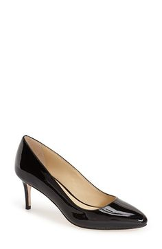 Cole Haan 'Bethany' Pointy Toe Pump (Women) available at #Nordstrom -  do I want to spend most of my gift card on one classic pair of shoes?? tough choices.