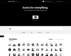Great idea! Check out The Noun Project!  http://thenounproject.com/