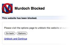 An app that blocks websites owned by Newscorp. Thanks to Joshua Sizemore for sharing.