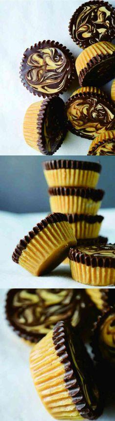NO BAKE CHOCOLATE PEANUT BUTTER CUPS - cake, chocolate, cookie, cracker, dessert, peanut, recipes