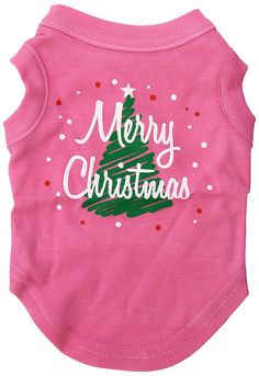 Mirage Pet Products 10-Inch Scribbled Merry Christmas Screenprint Shirts for Pets, Small, Bright Pink *** Details can be found by clicking on the image. (This is an affiliate link and I receive a commission for the sales) #CatLovers