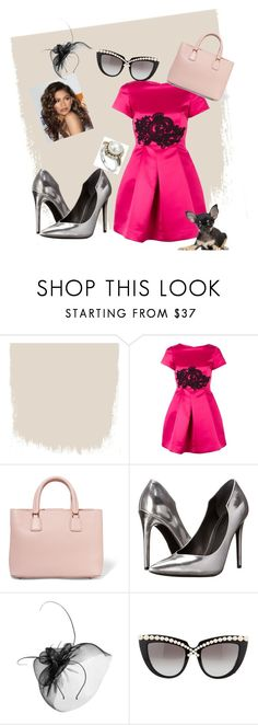 """""""A Special Dinner"""" by oudanne ❤ liked on Polyvore featuring Coleman, P.A.R.O.S.H., Dolce&Gabbana, Kendall + Kylie, Mascara, Anna-Karin Karlsson and Lagos"""