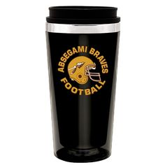 Great Football Gift Advertising Idea! #football #tumblers #logo #gifts Promotional 16 oz. Steel City Camino Tumbler | Customized Tumblers | Promotional Tumblers