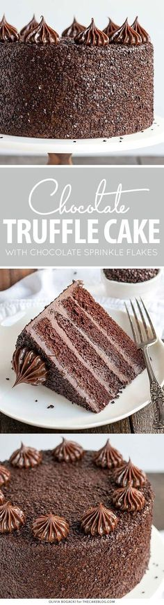 Ingredients: For the Chocolate Frosting (make in advance): 18 ounces semi-sweet or dark chocolate (finely chopped) 2 cups heavy...