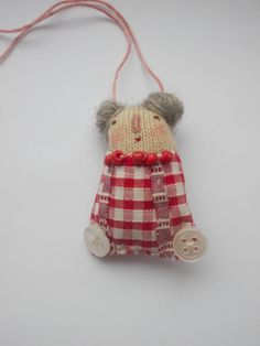 art doll Necklace/Decoration by maidolls