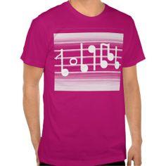 Bristles Musical Notes T-shirt