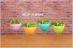 Bullet Planters