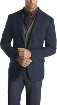 Check this out! Hammond Navy Cashmere Sport Coat - Blazers & Jackets from Joseph Abboud. #JosephAbboud