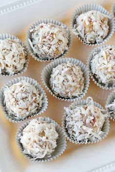 Coconut Snowballs via @Glorious Treats