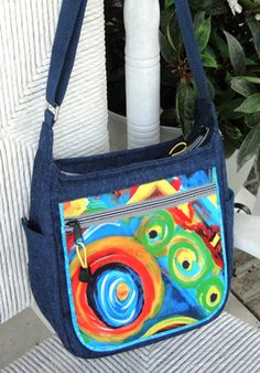 Gorgeous purse patterns from studio kat designs Bag Patterns To Sew, Sewing Patterns, Vide Poche, Diy Purse, Denim Bag, Fabric Bags, Quilted Bag, Shopper, Handmade Bags