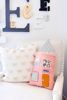 DIY House Pillow Kit-2