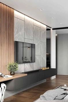 Modern Tv Room, Modern Tv Wall Units, Living Room Modern, Home Living Room, Living Room Decor, Living Room Tv Cabinet, Living Room Tv Unit Designs, Tv Wall Unit Designs, Tv Wall Design