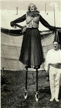 1920 Vintage Circus Clown Act