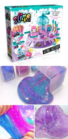 Slime is easy to make with this So Slime Set.
