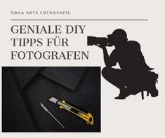 Teures Foto Equipment muss nicht sein. Mit meinen DIY Tipps für Fotografen kann man viel Geld sparen und erzielt faszinierende Effekte. Movies, Movie Posters, Photos, Image Editing, Saving Money, Tips And Tricks, Knowledge, Photo Illustration, Films