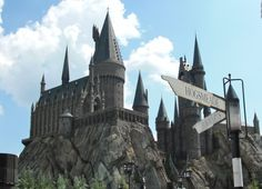 Go to Universal's Wizarding World of Harry Potter.