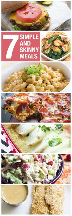 Simple skinny meals you will love!