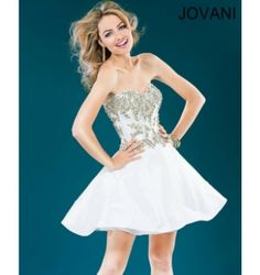 $500.00 Jovani Short Dress at http://viktoriasdresses.com/ Through John's Tailors