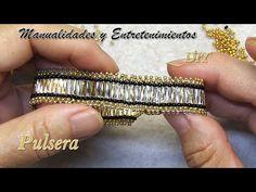 Beaded Necklace Patterns, Beaded Bracelets Tutorial, Seed Bead Bracelets, Jewelry Patterns, Beading Patterns, Diy Jewellery Designs, Bracelet Designs, Lace Jewelry, Beading Tutorials