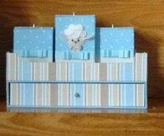 GAVETEIRO       Base Inferior e Superior   (2x) 30 x 19.8 cm papelão holler 2 mm    Laterais Menores   (2x) 19,8 x 6 cm papelão h...