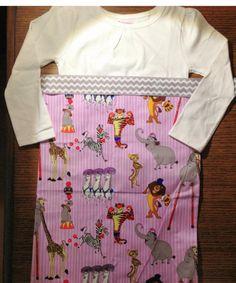 Madagascar 3 dress on Etsy, $35.00
