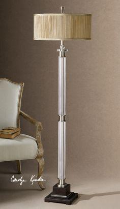 Uttermost rowley Glass floor Lamp
