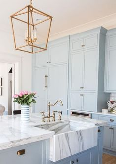 35+ AWESOME BEACH COLOR SCHEMES FOR YOUR KITCHEN