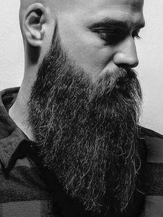 Beard Balm Leave-in Conditioner with Natural Bees Wax, Jojoba & Argan Oil - Styles, Softens, Strengthens & Thickens for Healthier Beard Growth & Mustache - 2 oz - The B. Bald Men With Beards, Bald With Beard, Grey Beards, Long Beards, Badass Beard, Epic Beard, Sexy Beard, Moustaches, Long Beard Styles