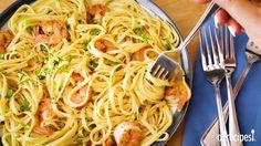 Shrimp Scampi with Pasta Video