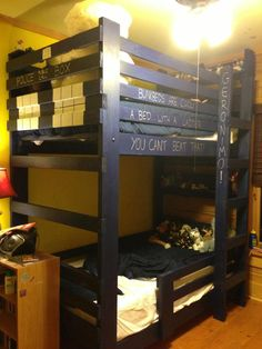 Bunk beds are cool. Tardis bunk beds are really cool.