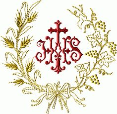JHS Round Wreath embroidery designs