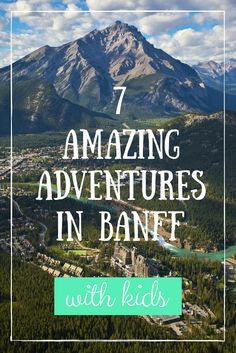 Banff National Park is the crown jewel of Canadian National Parks. From lakes to skywalks, how to explore beautiful Banff with kids in Canada's 150th year. (Credit: Banff & Lake Louise Tourism, Paul Zika Photography)