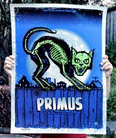 primus halloween poster - zoltron