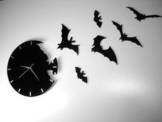 Bats and a clock
