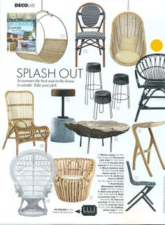 Pezula black cane chair available from us, spot the yellow dot.